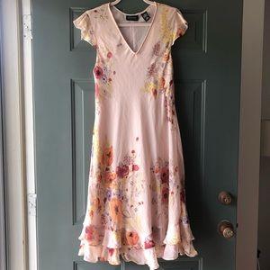 Vintage New York & Company Floral Dress